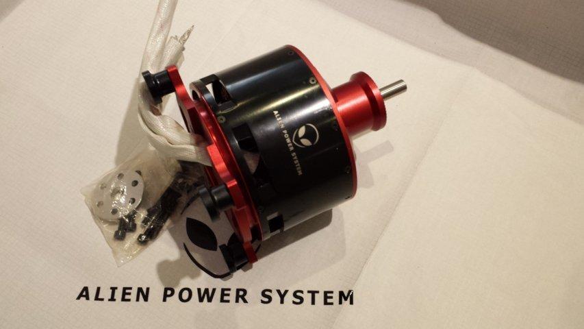 12090 outrunner brushless motor 80kv 18000w for Are brushless motors better
