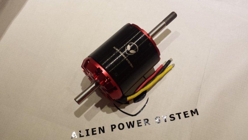 C80100 outrunner brushless motor 130kv 7000w for Are brushless motors better