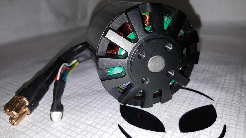aps 6374s sensored outrunner brushless motor 170kv 3200w. Black Bedroom Furniture Sets. Home Design Ideas