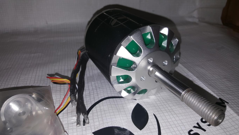 c80100 sensored outrunner brushless motor 130kv 7000w. Black Bedroom Furniture Sets. Home Design Ideas