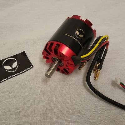 Alien 5065 fr sensored outrunner brushless motor 270kv 2000w for Are brushless motors better