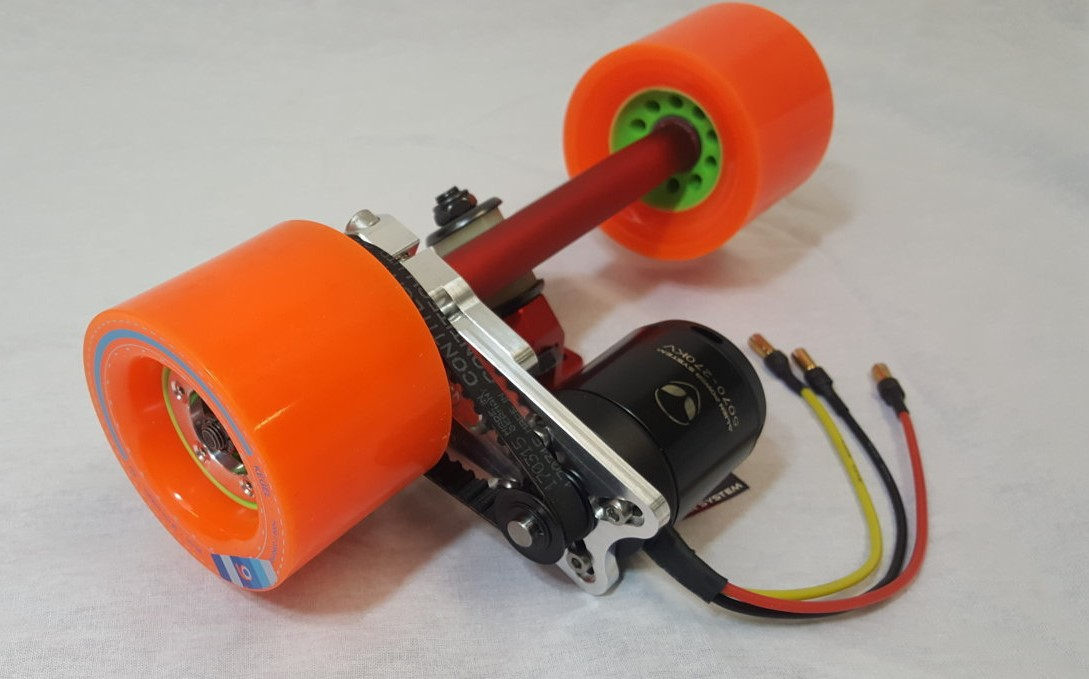 Alien Drive Systems Electric Longboard Diy Kit 50mm Motor