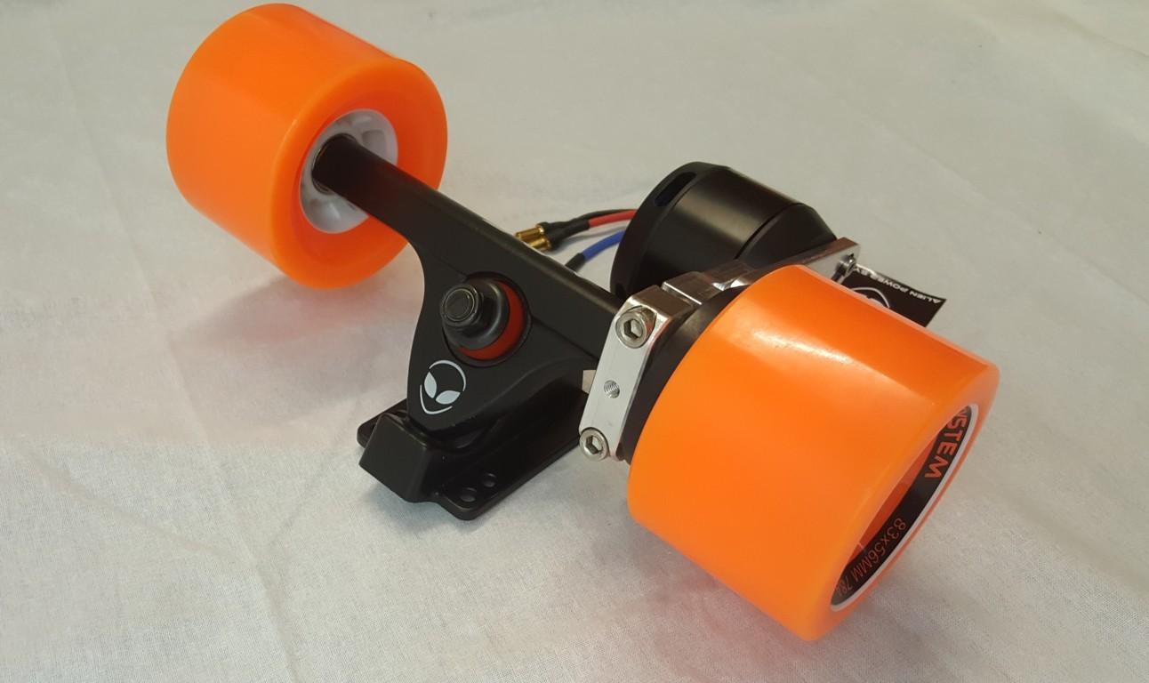 Alien Drive Systems Electric Longboard Diy Kit 63mm Motor