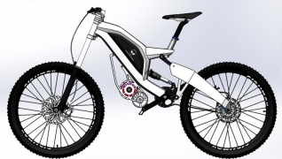 Alien downhill e bike