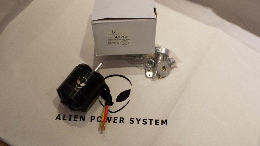 APS 6374 Outrunner brushless motor 170KV 3200W