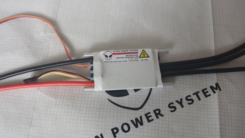 Alien 150a 3s Boat Esc Bec Mono1 Rc Brushless Motor Controller Wiring