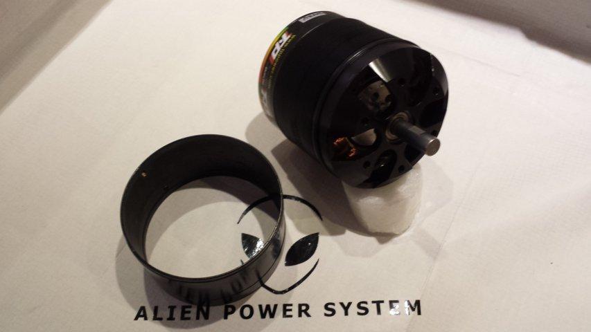 TP100 Inrunner brushless motor ...