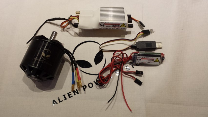 aps 120amp 3 2kw single motor e board diy kit alien. Black Bedroom Furniture Sets. Home Design Ideas