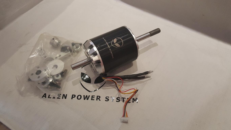 C80100 Sensored Outrunner Brushless Motor 130kv 7000w Alien Power Circuit