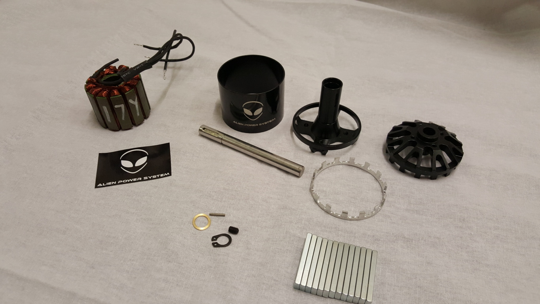 APS 5065DIY Outrunner brushless motor 90KV 1800W DIY project