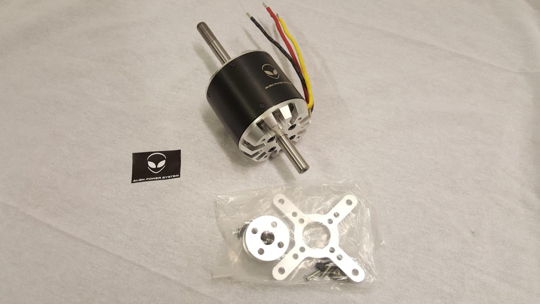 C8085 Outrunner Brushless Motor 250kv 6000w Circuit