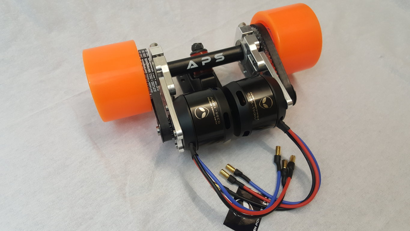 Alien Drive Systems Electric Longboard Diy Kit 63mm Motor