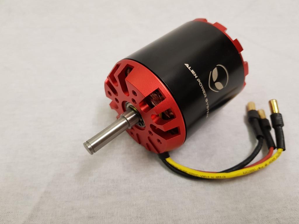 Aps 6374fr outrunner bldc motor 170kv 3200w for 3kw brushless dc motor